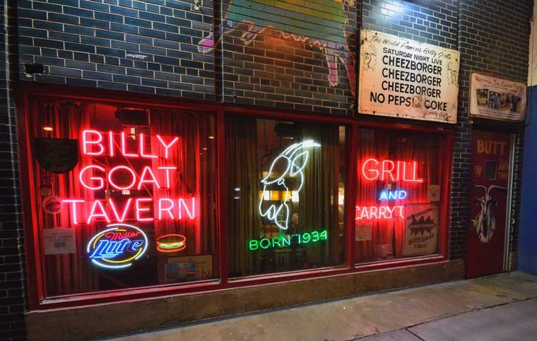 Chicago's Billy Goat Tavern