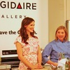Cooking at the Frigidaire Kids' Good-for-You Cooking Academy event