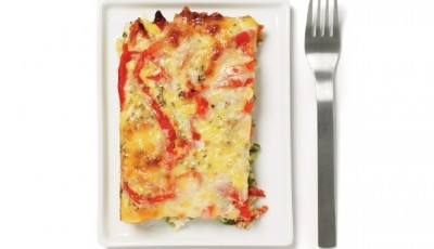 Soy cheeses and a Layered Mediterranean Breakfast Bake