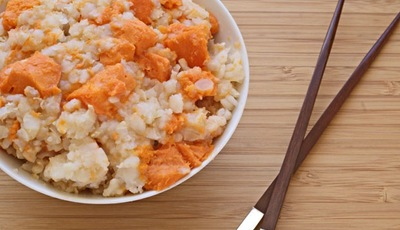 Rice cooker recipes: Yam Congee