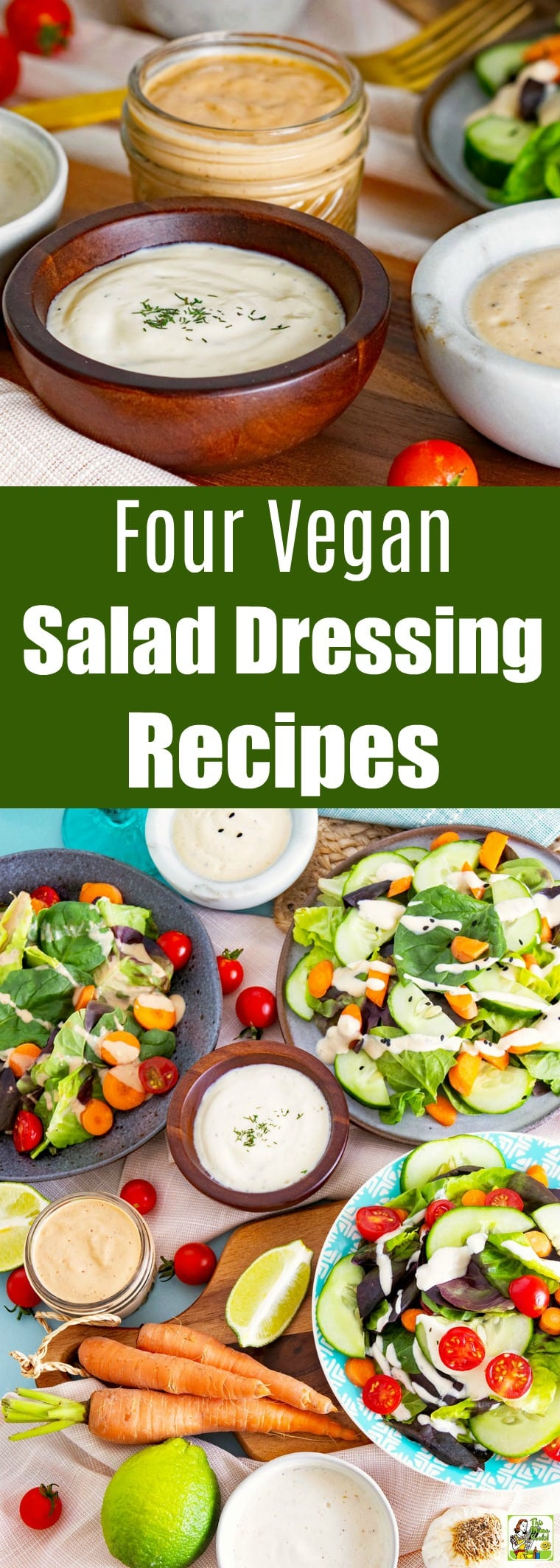 4 Vegan Salad Dressing Recipes