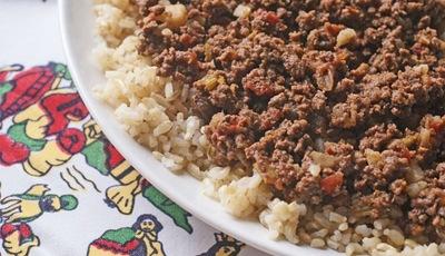 Venison Chorizo Picadillo