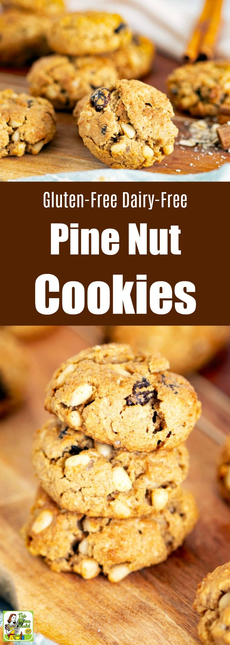 Gluten-Free Dairy-Free Pine Nut Cookies Recipe
