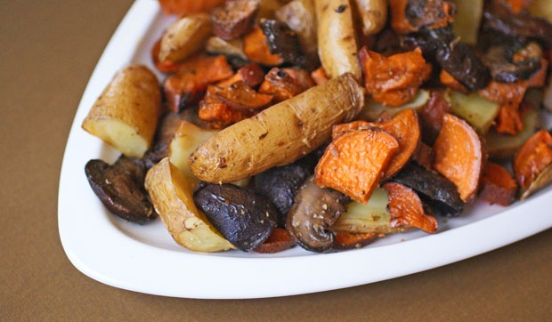 Easy Roasted Root Vegetables at This Mama Cooks! On a Diet - thismamacooks.com