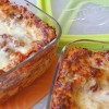 Enter to win a Ziploc VersaGlass Container gift pack and try out this low-fat lasagna recipe!