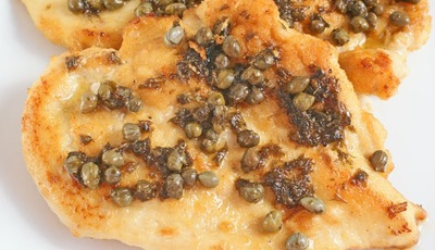 Flat Belly Diet Chicken Piccata