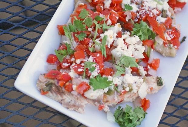 Best six ingredient dinners fish veracruz blue cash for Fish veracruz recipe