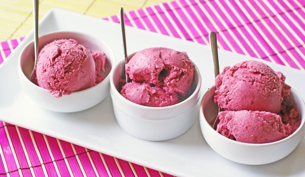 Mixed Berry Sorbet