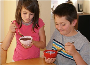 Kids love Sugar Free & Dairy Free Chocolate Pudding with Truvia. Get the recipe at This Mama Cooks! On a Diet