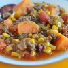 Holly Clegg's Southwestern Soup for a healthier Halloween #glutenfree