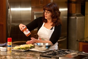 Demonstrating Hunt's Dinner Sauces