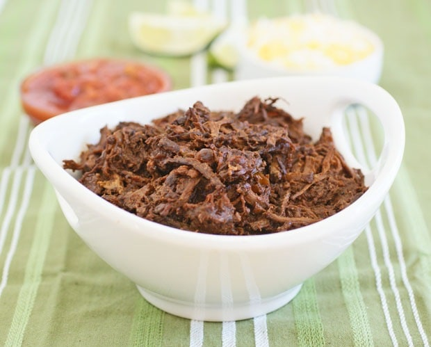 Crockpot Pulled Goat (Venison, Pork, Chicken, or Beef) recipe at This Mama Cooks! On a Diet - thismamacooks.com