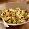 Healthy holiday recipes: Quinoa with Pomegranate Arils and Goat Cheese #glutenfree
