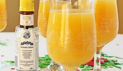 Holiday drinks: Angostura Orange Blossom Mocktail