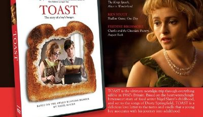 Toast: a movie review and a recipe for lemon meringue pie