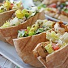 Rachael Ray's Greek Grilled Chicken & Vegetable Salad with Pita Bread