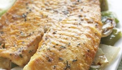 Fish with Pico Garlic Rub
