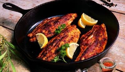 Black 'N Spicy Fish