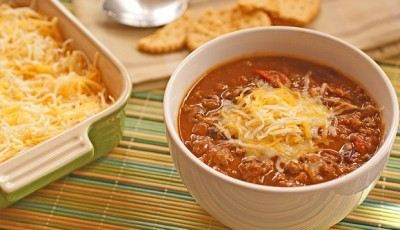 Healthy Slow Cooker Pumpkin and Bean Chili