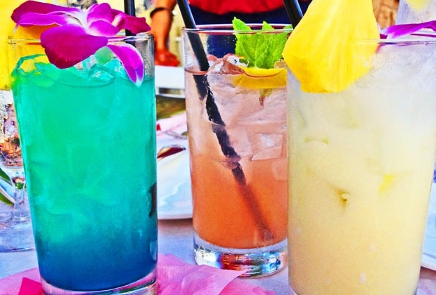 Hawaiian cocktails 2