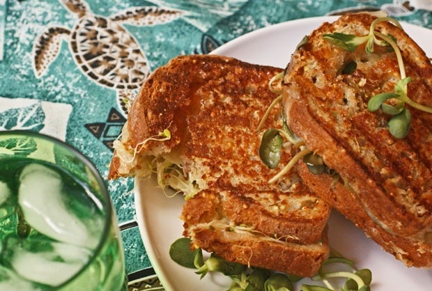 Tropical Grilled Cheese Sandwich at This Mama Cooks! On a Diet - thismamacooks.com