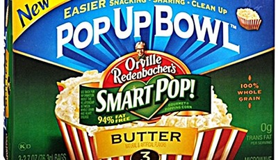 Smart snacking with Orville Redenbacher's SmartPop!