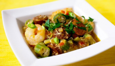Healthy Southern Seafood Gumbo from Everyday Health's Recipe Rehab