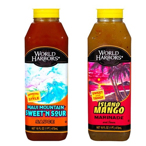 World Harbors marinades