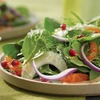 Summer salads: Spinach, Tangerine and Fennel Salad with Pomegranate Vinaigrette