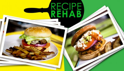 Healthing up your Labor Day burgers and fries with Everyday Health's Recipe Rehab