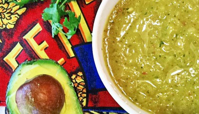 Do I #rocktheguac or what? Vote for me in Wholly Guacamole's Rock the Guac recipe contest