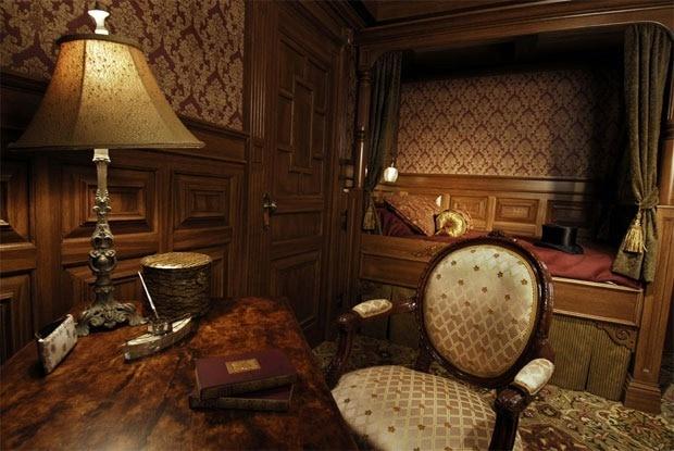 Titanic first class cabin