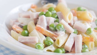 Thanksgiving leftovers: Rigatoni-Turkey Salad