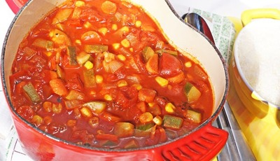 Hunt's® Fire-Roasted Tomato Vegetable Soup #HuntsRecipes