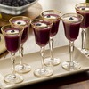 Ring in the New Year with a healthy Blueberry and Pear Champagne Aperitif