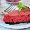 Healthy holiday desserts: Holly Clegg's Red Velvet Cheesecake