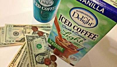 Saving money and calories with International Delight Light Iced Coffee #LightIcedCoffee