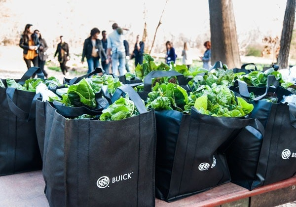 bags of produce from Love is Love