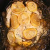 Slow Cooker Lemon, Garlic and Rosemary Chicken