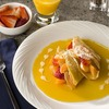 Gluten-Free Crepes with Chilean Fruit and Orange Vanilla Sauce