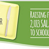 Support the Salad Bar Nation initiative to bring 2013 salad bars to schools
