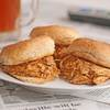 Healthy Slow Cooker Buffalo Chicken and Ranch Sliders