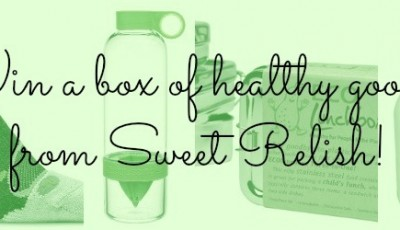 Win over $75 of healthy goodies from Sweet Relish!