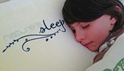 A great night's sleep with Nature's Sleep Vitex Memory Foam Pillow {memory foam slippers give away!}