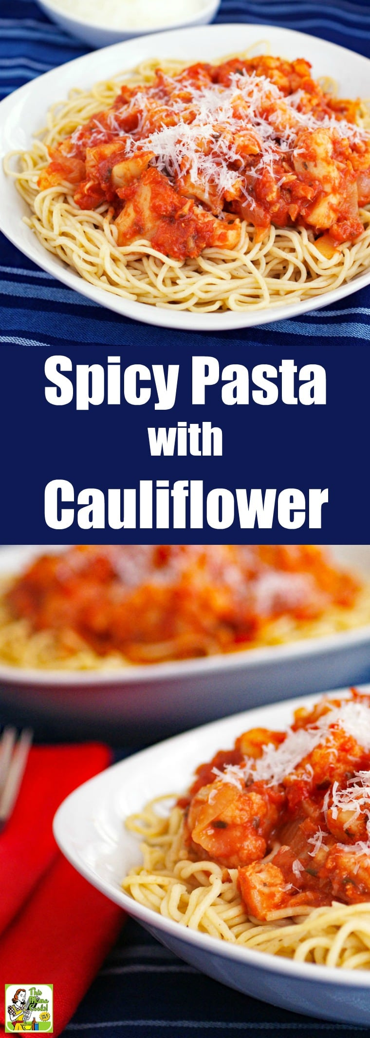 Spicy Pasta with Cauliflower Recipe