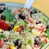 Meatless Monday: The Passionate Vegetable cookbook review and a recipe for California Fiesta Quinoa Salad #meatlessmonday #glutenfree