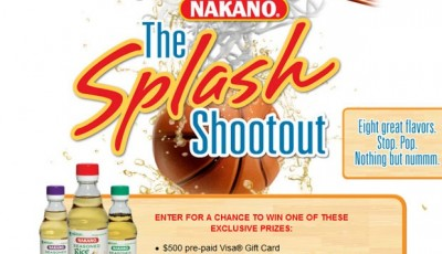 Enter the NAKANO Splash Shootout! #NAKANOSplash