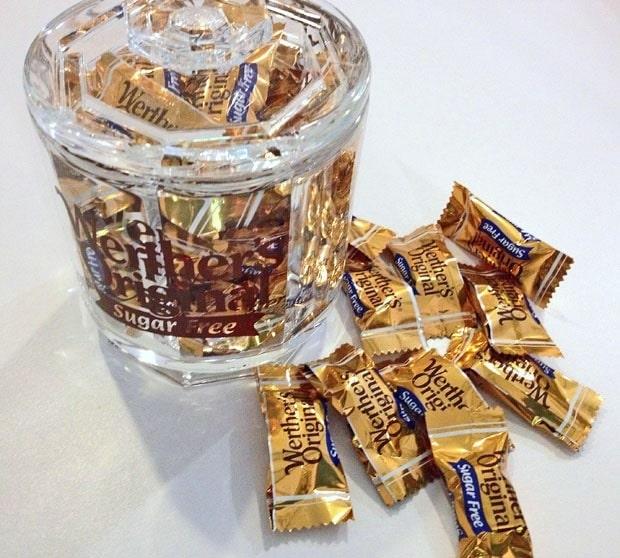 Safely indulging with Werther's Original Sugar Free Candy #WerthersSugarFree