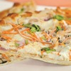 Healthy Chicken Thai Pizza