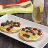 Gluten Free Mini Cookie Pizzas with Fruit